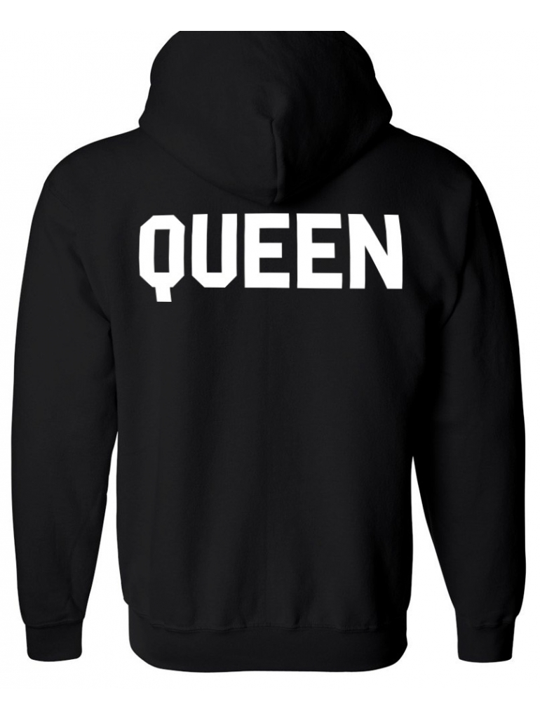 RXL Paris - Sweat Capuche Queen Noir