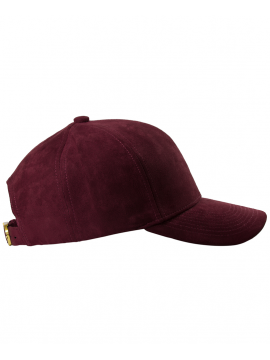 DS|LINE - Trucker Strapback Suede Bordeaux / Or
