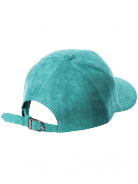 63f30a9f2ee DSLINE Trucker Strapback Suede Turquoise   Silver