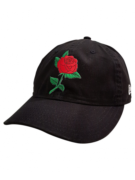 New Era X RXL Paris Patch Custom Dad Hat Noir