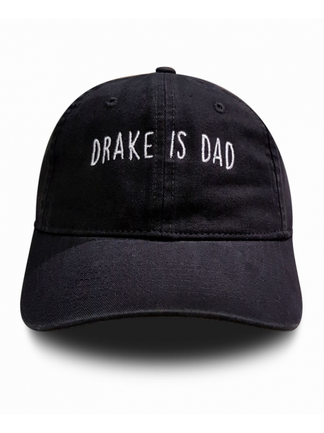 RXL Paris Casquette Dad Hat Drake Is Dad Noir