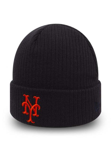 New Era Bonnet New York Mets Club Coop Bleu Marine
