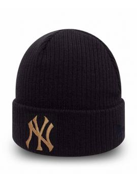 New Era Bonnet New York Yankees Club Coop Noir