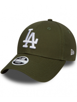 New Era 9Forty Femme Adjustable Casquette Los Angeles Dodgers Vert Militaire