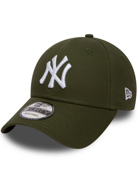 New Era 9Forty Essential New York Yankees Vert Kaki