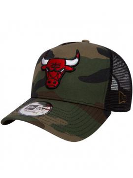 New Era 9Forty Chicago Bulls Team Essential Trucker Camo