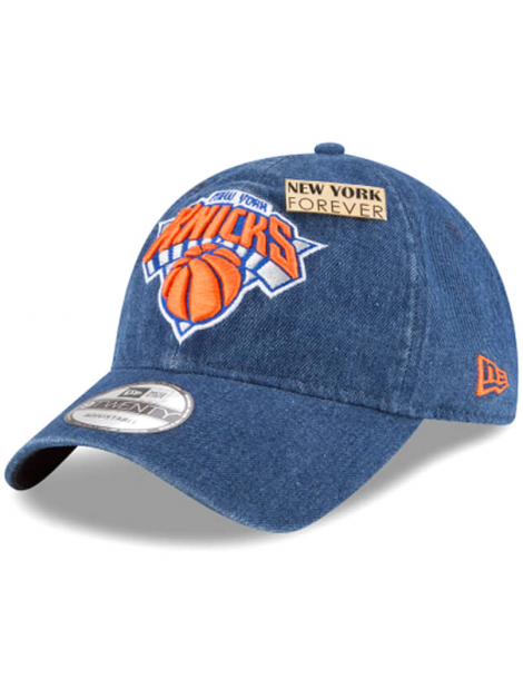 Casquette New Era 9Twenty Denim New York Knicks 2018 Draft