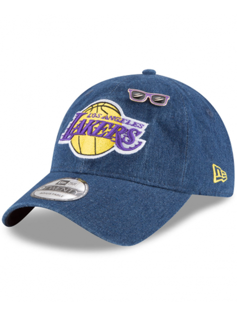 Casquette New Era 9Twenty Denim Los Angeles Lakers 2018 Draft