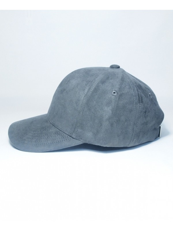 DS LINE - Trucker Strapback Suede Charcoal