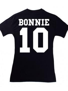 RXL Paris - Tshirt Back Number Bonnie Noir (METTRE 10)