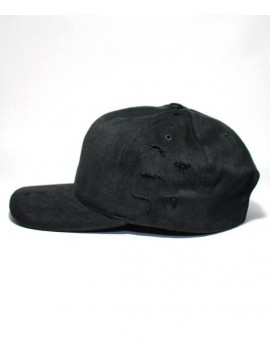 Sans Bruit - Trucker Casquette Destroyed Noir