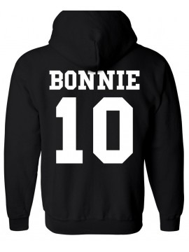 RXL Paris - Sweat Capuche Bonnie 10 Noir
