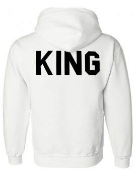 RXL Paris - Sweat Capuche King Blanc