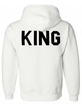 RXL Paris - Sweat Capuche King Blanc