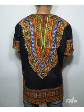 "RXL Paris - Dashiki ""YA MADO"" Wax Noir"