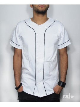 RXL Paris - Jersey Baseball Blanc