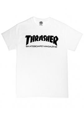 Thrasher - Thrasher Skate Magazine Tee in White