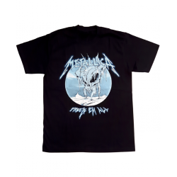 Metallica - Tshirt Metallica Freeze Em All Noir