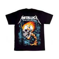 Metallica Escape From The Studio Tee in Black