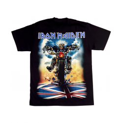 Iron Maiden Dont Walk Tee in Black