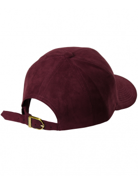 DSLINE Trucker Strapback Suede Bordeaux / Or