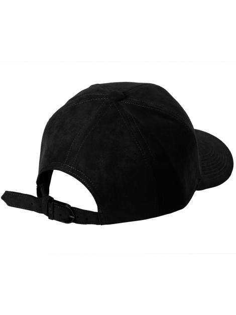 DS|LINE - Trucker Strapback Suede Noir / Noir