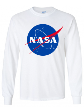 RXL Paris - NASA Long Sleeve Tee in White