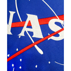 RXL Paris - NASA Patch Brodé Sweat A Capuche Blanc