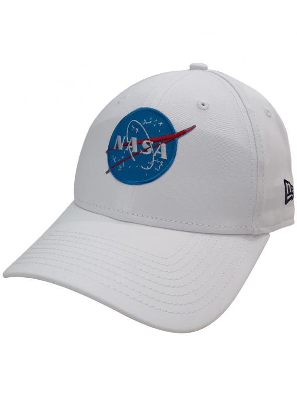 watch 84c78 4adf4 ... where to buy new era 9forty nasa embroidered patch dad hat white 17949  733bd
