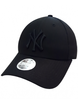 New Era 9Forty Womens NY Yankees Essential Black