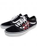 Vans Old Skool And Snake Remix Line Custom Black/White