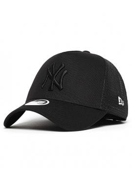New Era Casquette Trucker MLB New York Noir/Noir