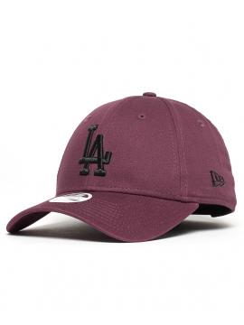 New Era 9Forty League Essential Los Angeles Dodgers Bordeaux/Noir