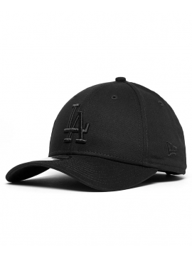 New Era Casquette 9Forty League Essential Los Angeles Dodgers Noir/Noir
