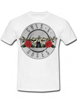 Guns N' Roses Tshirt Blanc