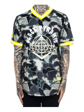 Black Pyramid On Sight Baseball Jersey Camo