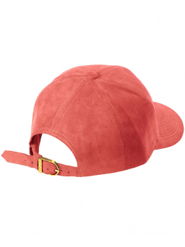 DS|LINE Trucker Strapback Suede Peach / Gold