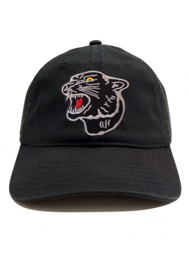 RXL Paris Casquette Dad Hat Patch Black Panther Noir