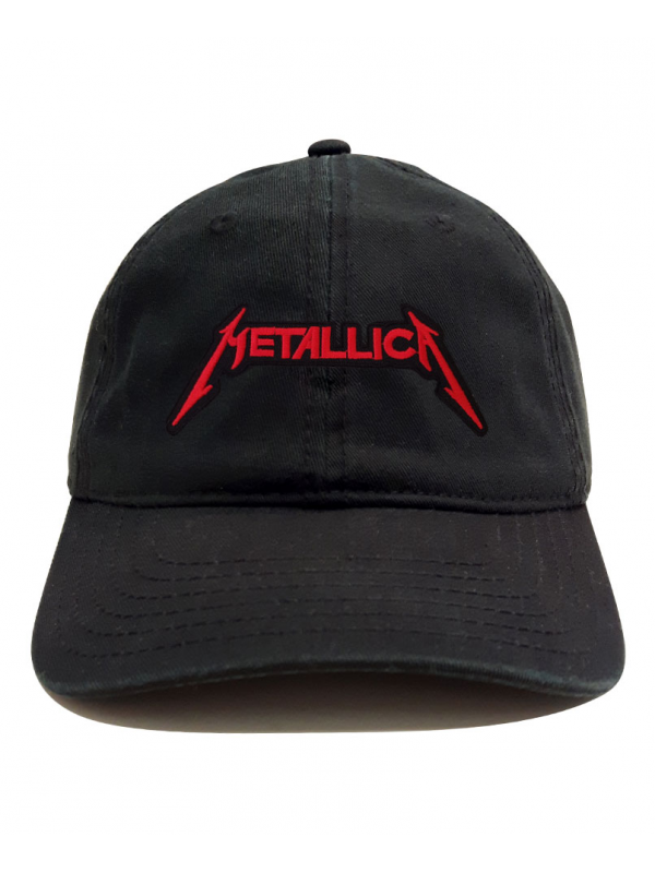 RXL Paris Casquette Dad Hat Patch Metallica Noir