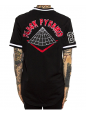 Black Pyramid Pop Face Jersey Baseball Noir