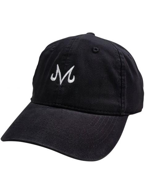 RXL Paris Casquette Dad Hat Majin Vegeta Noir/Blanc