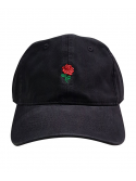 RXL Paris Casquette Dad Hat Rose Noir/Rouge