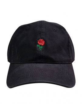 RXL Paris Rose Dad Hat Black/Red