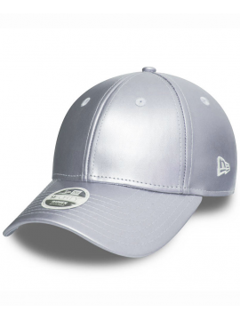 New Era Women 9Forty Silver Metallic