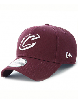 New Era 9Forty Felt Infill Cleveland Cavaliers Burgundy