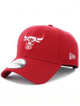New Era 9Forty Felt Infill Chicago Bulls Red