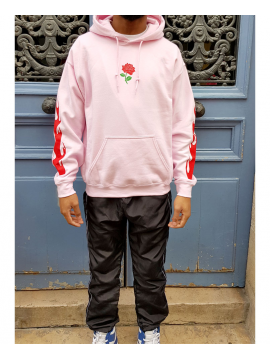 RXL Paris Rose Of The Flames Hoodie Pink