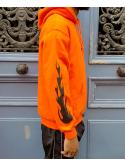 RXL Paris Majin Vegeta Sweat A Capuche Orange