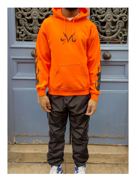 RXL Paris Majin Vegeta Sweat A Capuche Orange