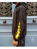 RXL Paris Majin Vegeta Sweat A Capuche Noir